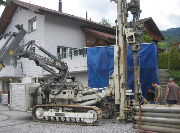 Geothermal Drilling Machine