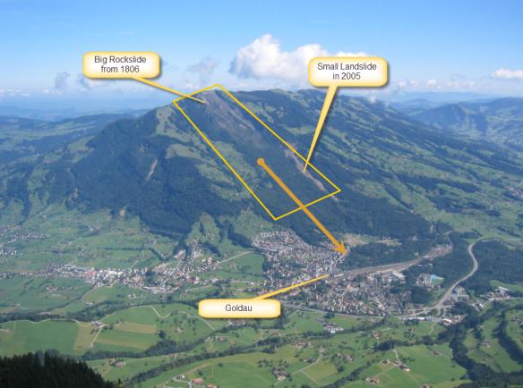 Goldauer Rockslide Area