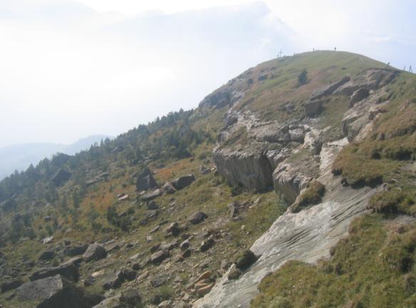 Goldauer Rockslide Starting Point