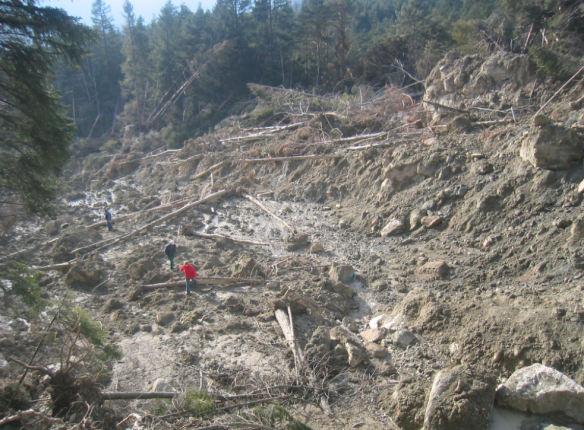 Landslide 2005 at Rossberg
