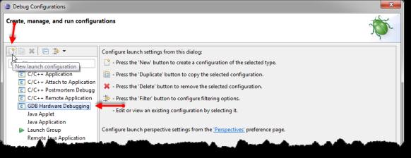 New Launch Configuration