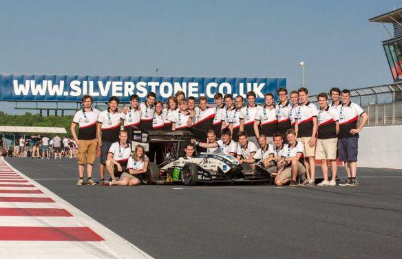 Team in Silverstone (Picture: Benjamin Hildebrandt)