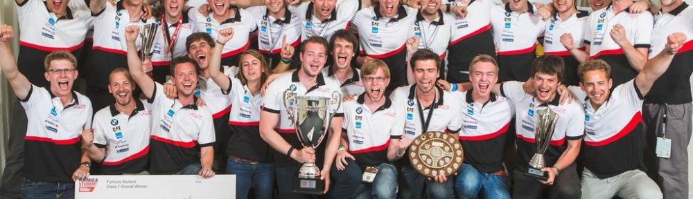 Winning Team in Silverstone (Picture: Andrew Huddart)