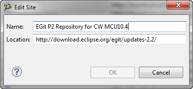 eGit Repository for MCU10.4