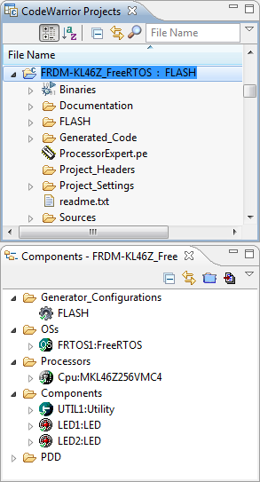 FreeRTOS on FRDM-KL46Z