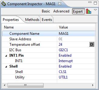 MAG3110 Properties