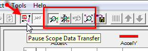 Pause Scope Data Transfer