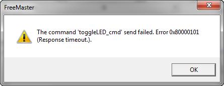 Timeout Error