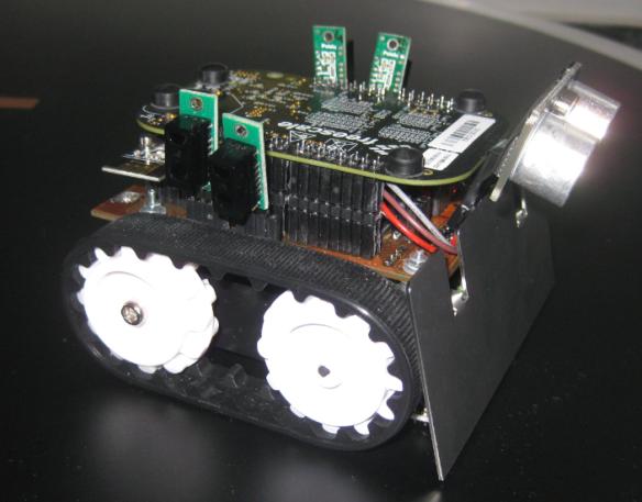 INTRO Zumo Robot Side View