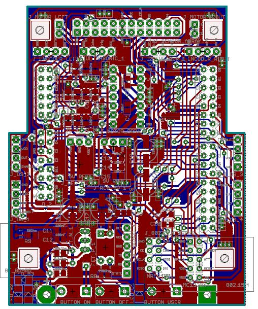 Intro Zumo Robot V2.9 Layout