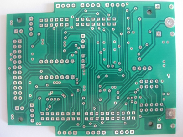 INTRO Zumo PCB Bottom Side