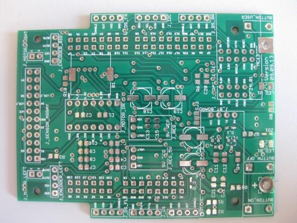 Intro Zumo PCB TopSide