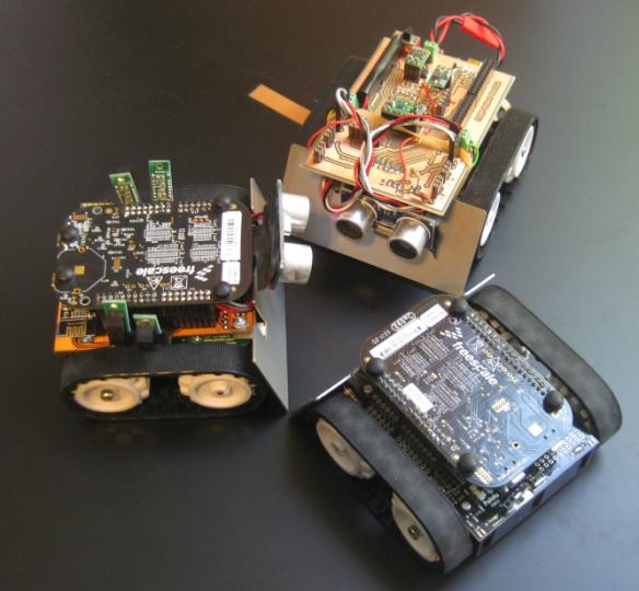 Three different Zumo Robots