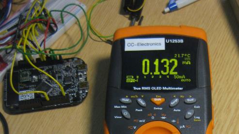 132 micro amps