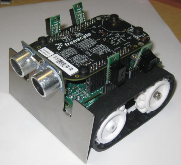 Intro Zumo Robot with FRDM-KL25Z