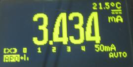 KL25Z current at 2 MHz
