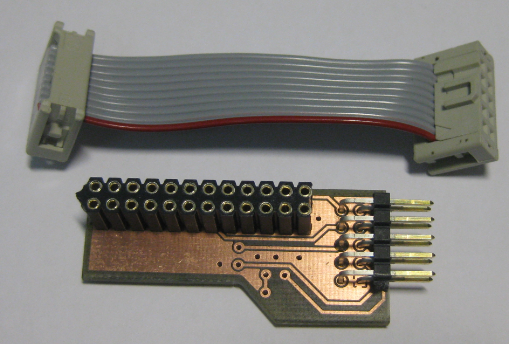 Adapter PCB with Cable