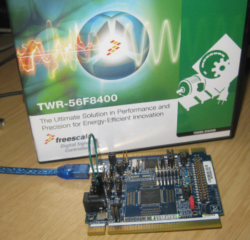 TWR-56F8400 Board and Box