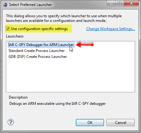 Using IAR C-SPY Debugger