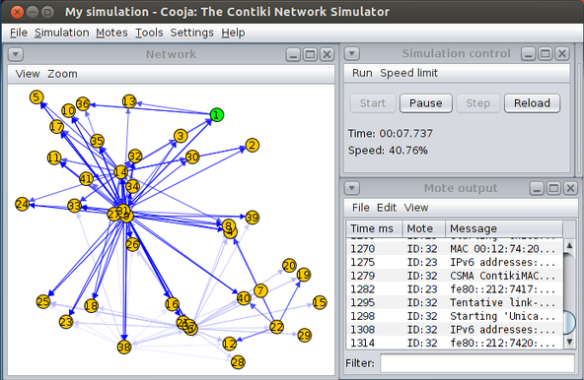 Contiki Network Simulator (Source: Wikipedia)