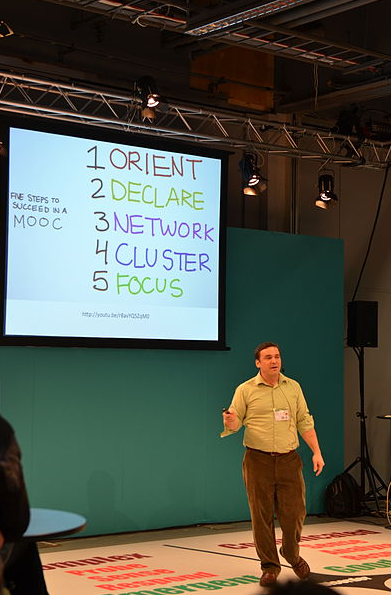 Dave Cormier at Skolforum (Source: Wikipedia)