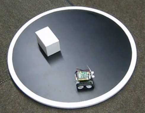 Sumo Robot against Dummy Bot