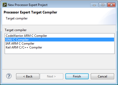 Processor Expert Driver Suite V10 3 Available Mcu On Eclipse