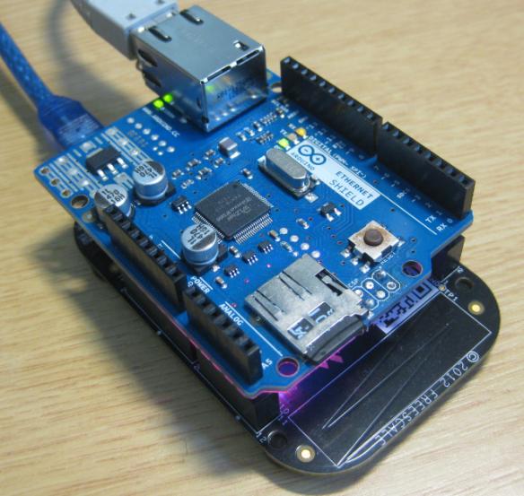 FRDM-KL25Z running Embedded Web Server with W5100