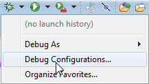Debug Configurations
