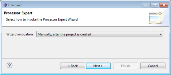 Processor Expert Option