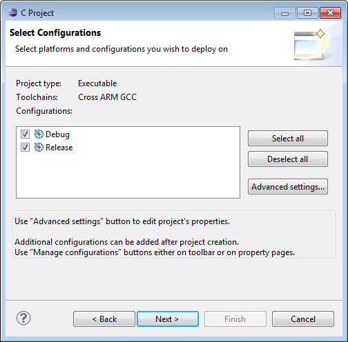 Select Configurations