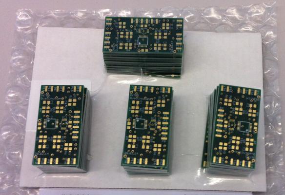 40 Encoder PCBs arrived