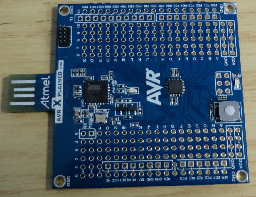 Boards from embedded world stm nucleo atmel xplained