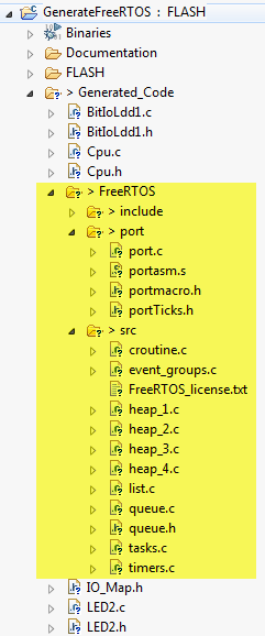 Generated Sub Folders