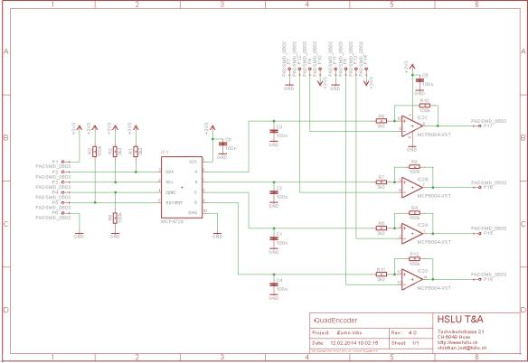 INTRO QuadEncoder Schematic