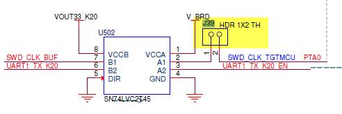 J39 (Source: TWR-K64F120M schematics))