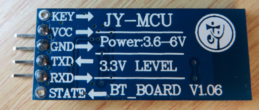 JY-MCU BT_BOARD V1.06 Bottom Side
