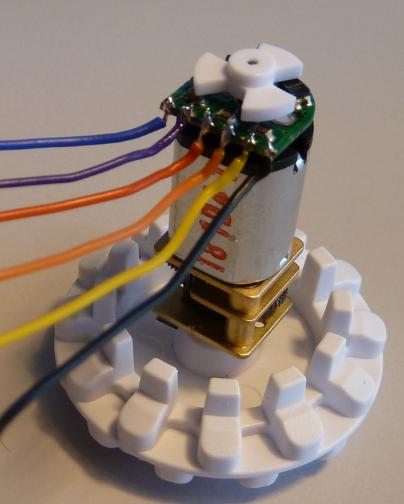 Optical Motor Shaft Encoder