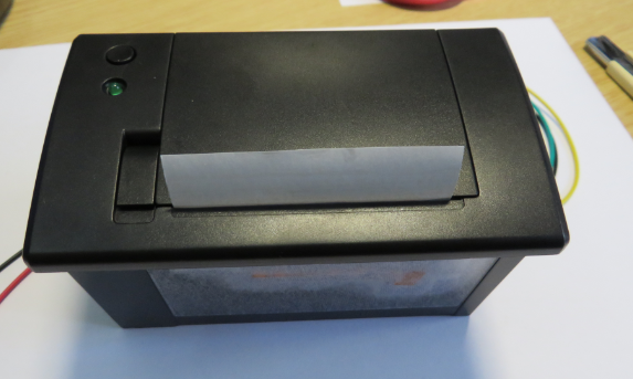 Printer Cover Closed