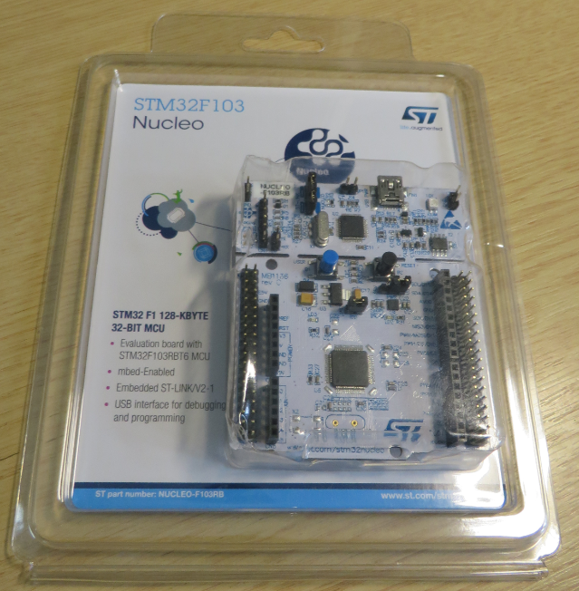 Boards from Embedded World (STM Nucleo, Atmel Xplained Mini