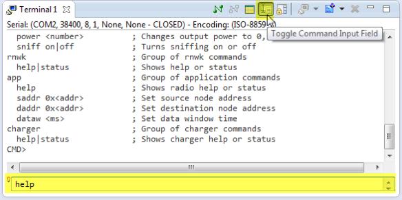 Toggle Command File Input