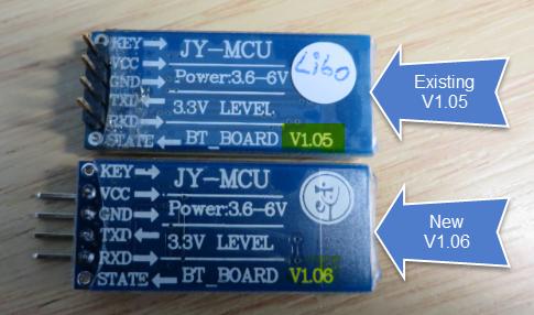 V1.05 and V1.06 Module