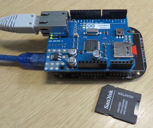 Ethernet Shield with SD card