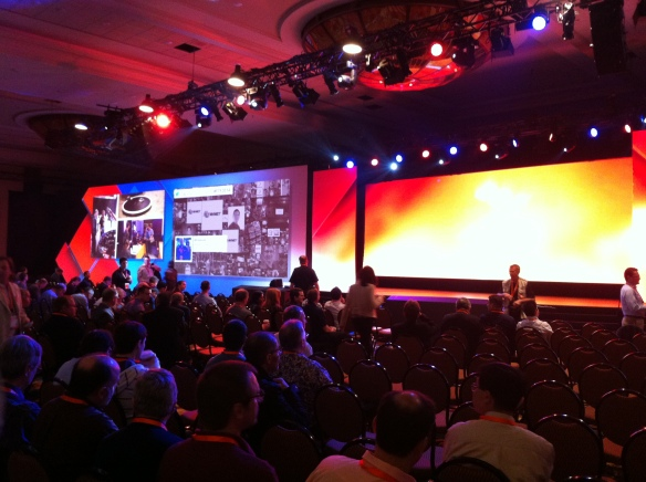 Keynote and opening session