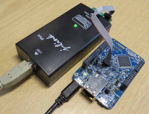 J-Link Hooked Up to recover the K64F