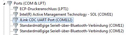J-Link Serial Port