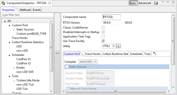 New Component Inspector