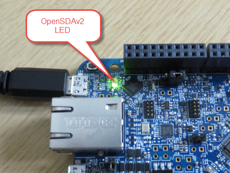 OpenSDAv2 LED