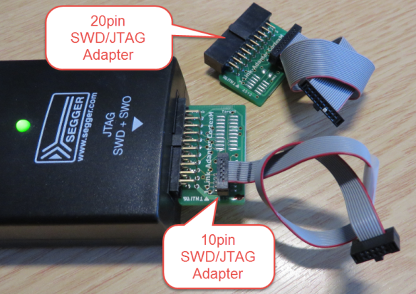 Segger J-Link SWD and JTAG Adapters