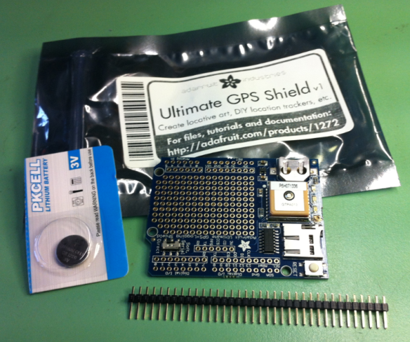 Adafruit GPS Shield Package